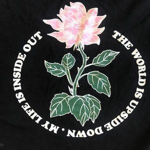 EMPYRE Shirt- The Upsidedown Flower 🌹 Shirt Large